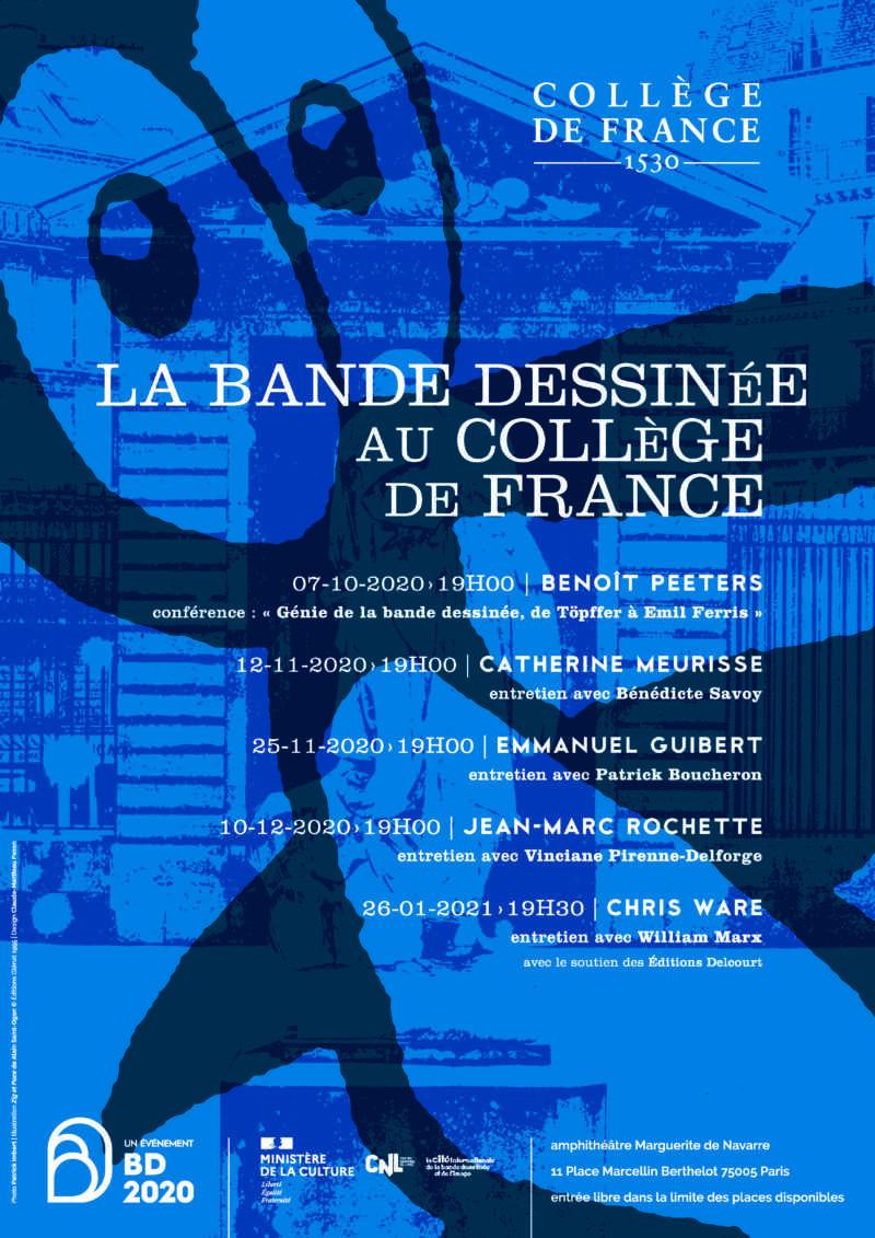 La bande dessinée au Collège de France