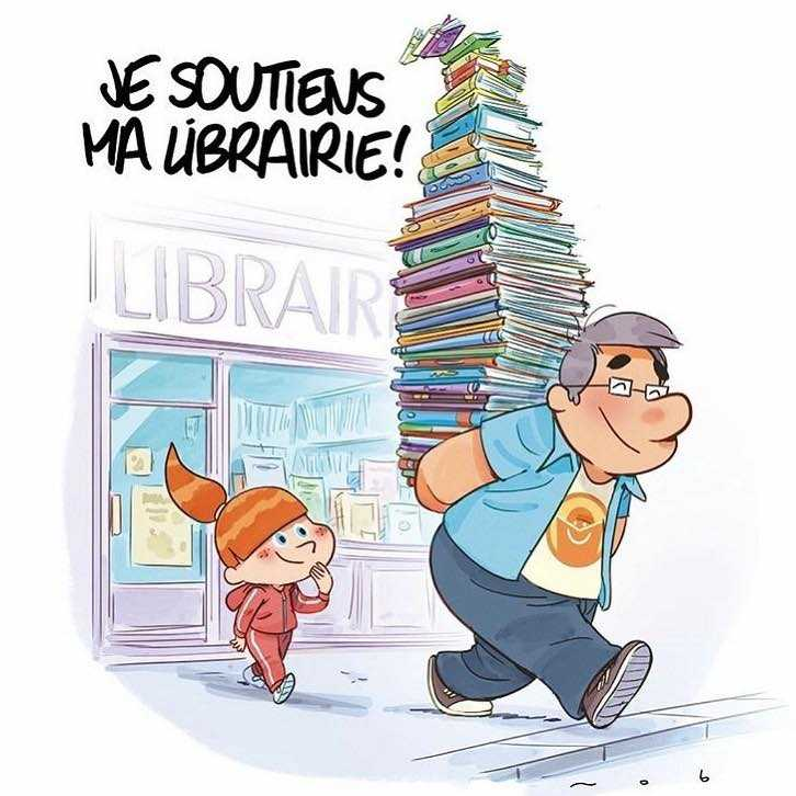 Je soutiens ma librairie !