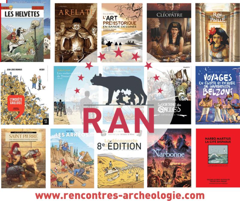 Prix de la BD d'Archéologie RAN 2020