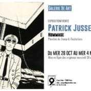 Exposition-vente Patrick Jusseaume à la Galerie du 9e Art à Paris