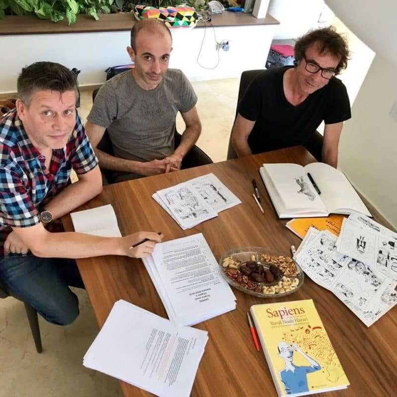 David Vandermeulen, Yuval Noah Harari et Daniel Casanave