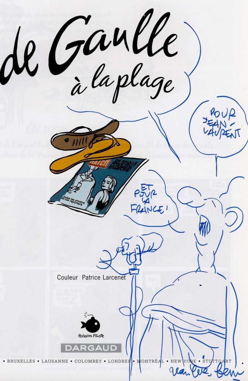 Dédicace de Jean-Yves Ferri