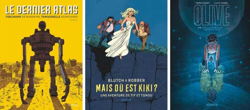 Les albums Dupuis sélectionnés