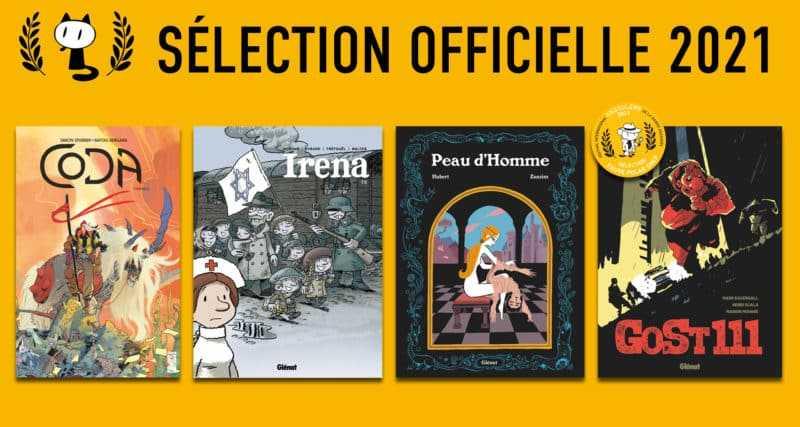 Les albums Glénat sélectionnés
