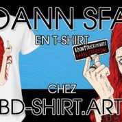 Sfar rejoint Bilal, Druillet, Liberatore pour des tee-shirts exclusifs avec BD-Shirt.Art