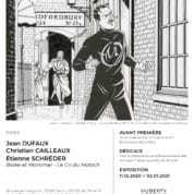 Le Cri du Moloch s'expose chez Huberty & Breyne à Paris pour le retour de Blake et Mortimer