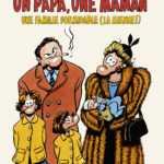 Un Papa, une Maman, Florence Cestac en famille