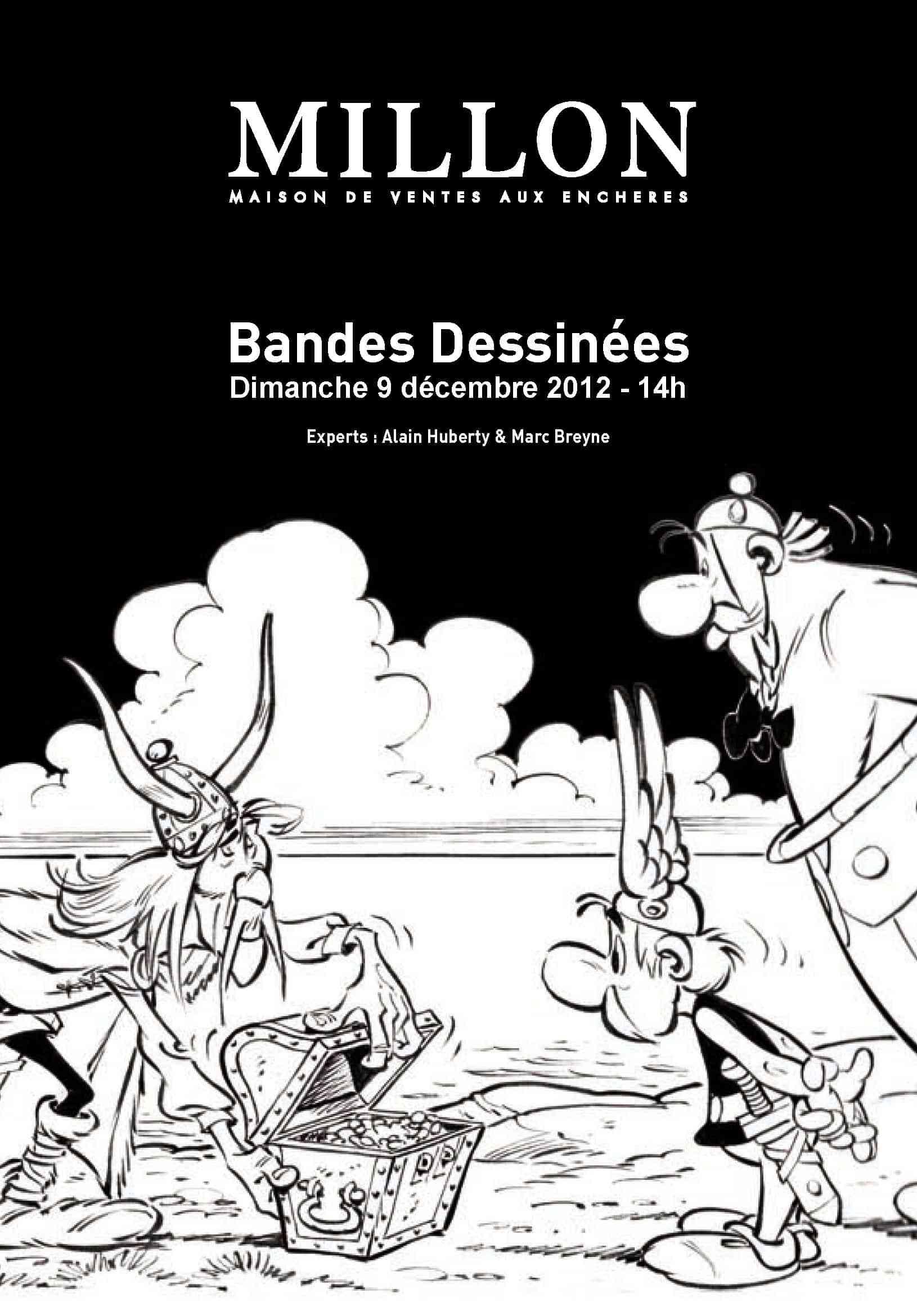 Vente aux enchères : des trésors le 9 décembre à Paris et Bruxelles chez Millon