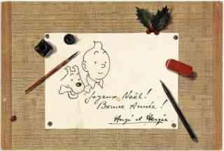 Carte de vœux 1961-1962