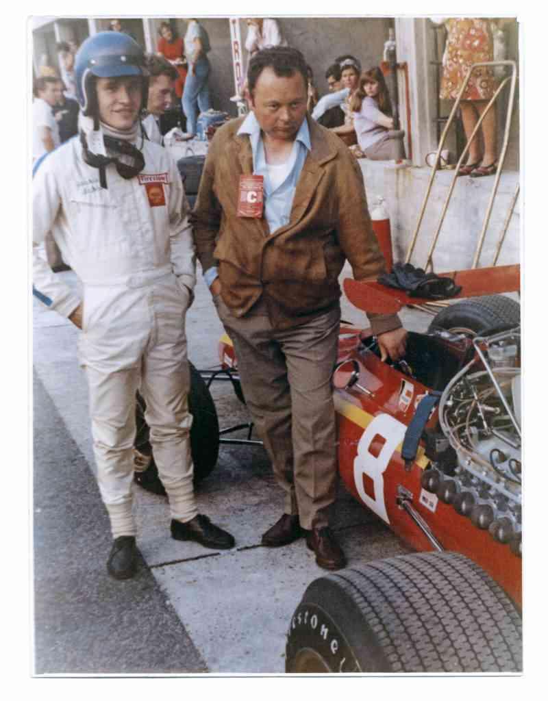 Jacky Ickx et Jean Graton