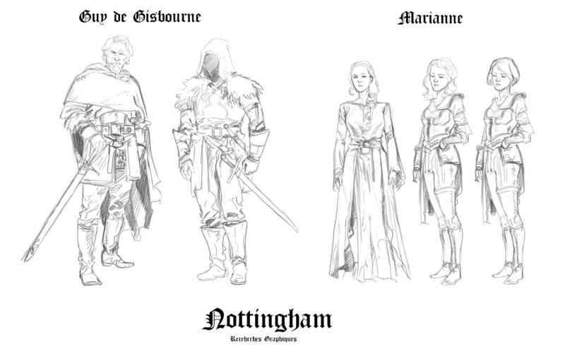 Guy de Guisbourne et Marianne