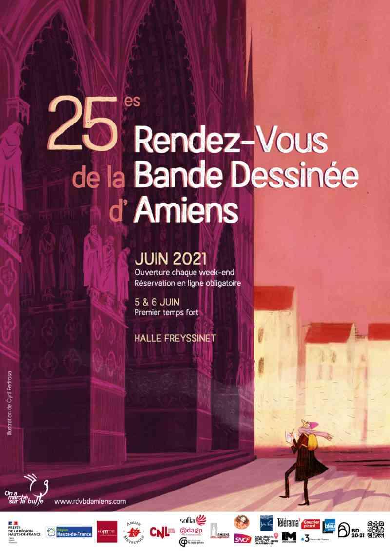 Rendez-Vous de la BD d'Amiens 2021
