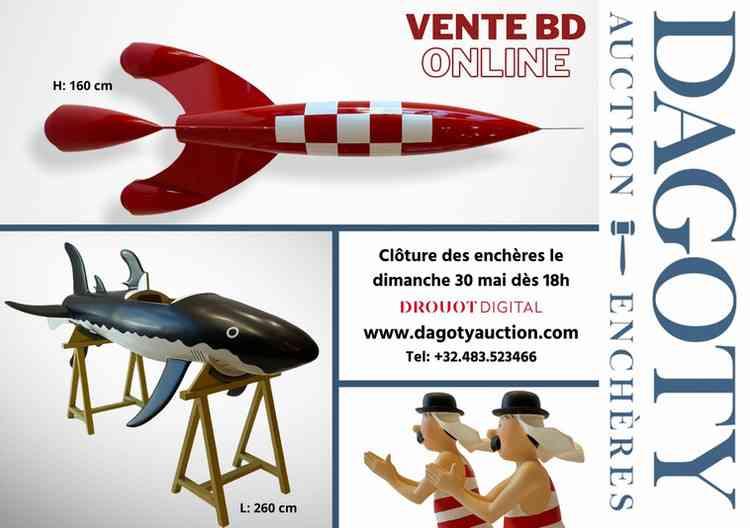Vente BD n°13 par Dagoty Enchères