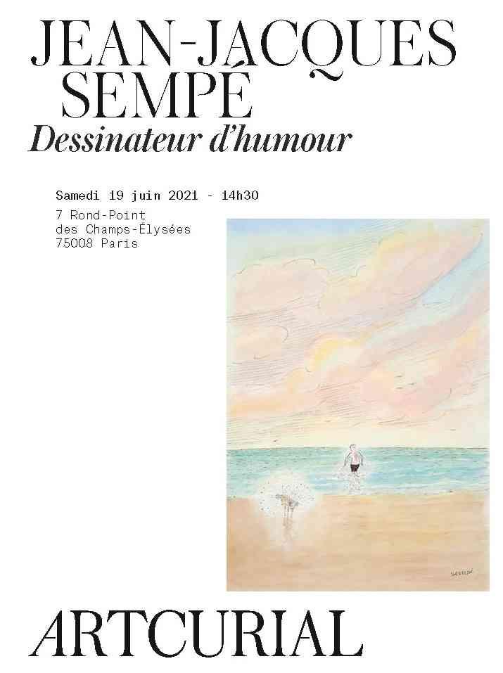 Jean-Jacques Sempé, dessinateur d'humour