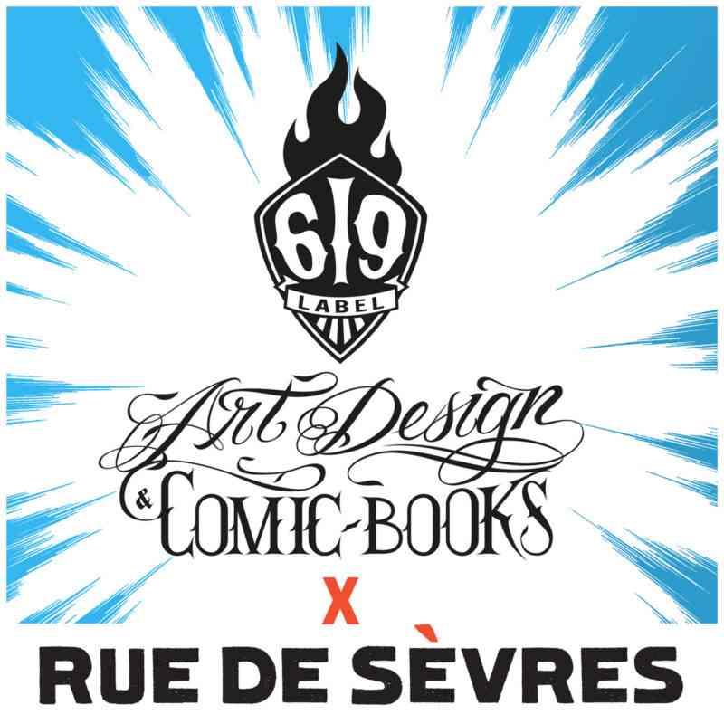 Label 619 - Éditions Rue de Sèvres