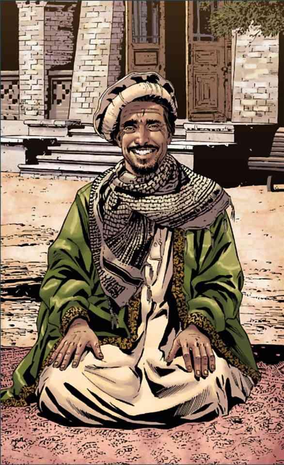 Le Garde du corps de Massoud