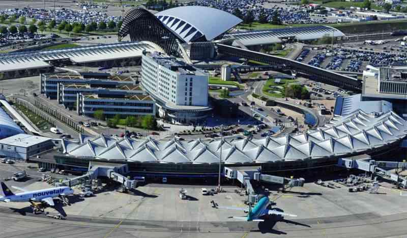 L'aéroport Lyon Saint-Exupéry