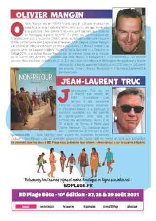 Olivier Mangin et jean-Laurent Truc
