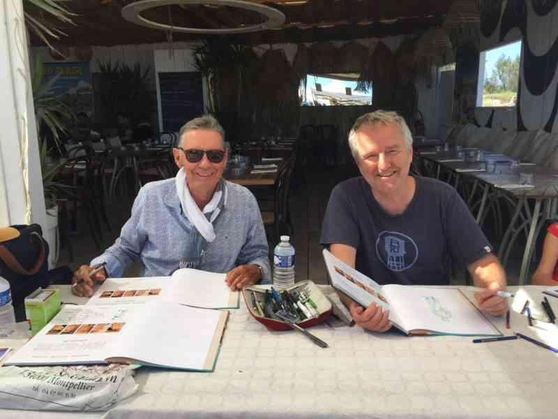 Jean-Laurent Truc et Olivier Mangin