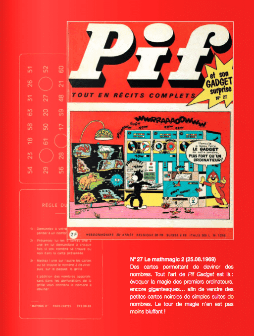 Pif, La grande histoire des gadgets
