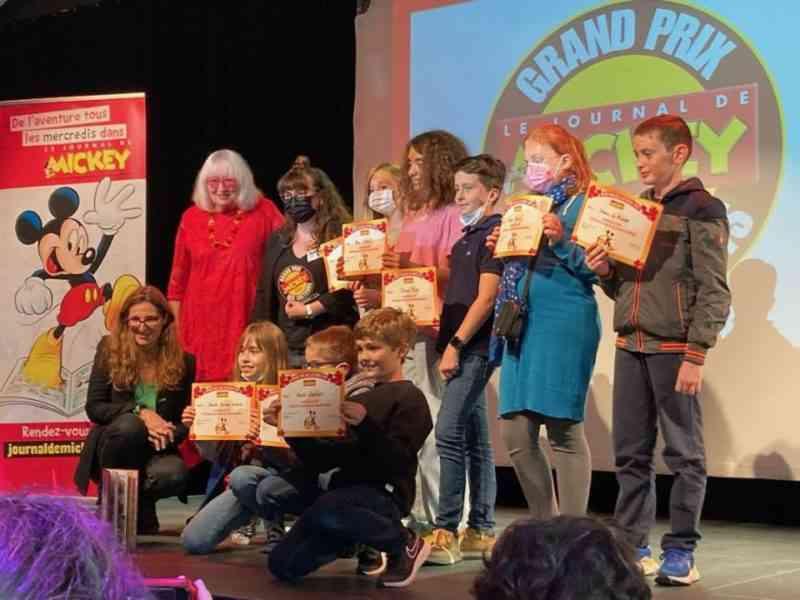 Grand Prix des lecteurs du journal de Mickey 2021
