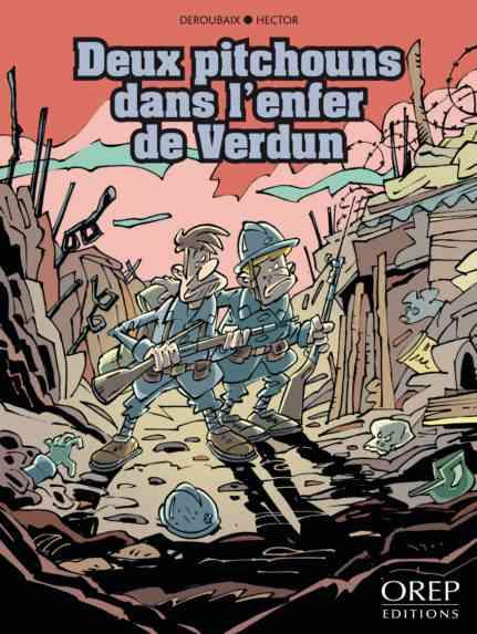 Deux pitchouns dans l'enfer de Verdun